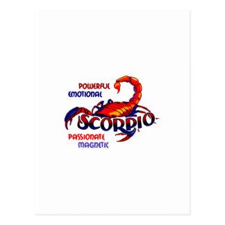 SCORPIO TRAITS POSTCARD