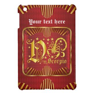 Scorpio V Please view artist comments iPad Mini Case