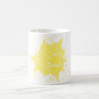 Scorpio Yellow Mug