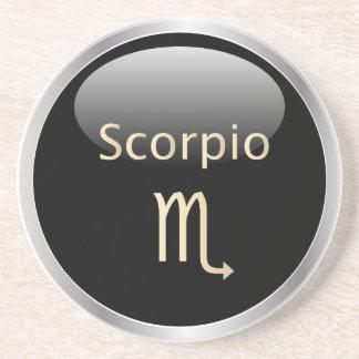 Scorpio zodiac astrology star sign zodiac coaster