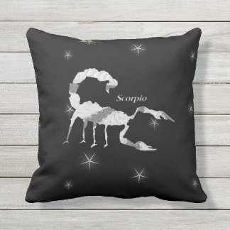Scorpio  Zodiac Design Outdoor Cushion