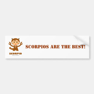 Scorpio Zodiac for Kids Bumper Sticker