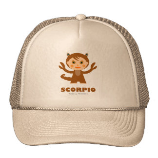 Scorpio Zodiac for Kids Cap
