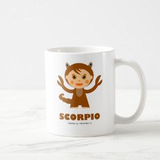 Scorpio Zodiac for Kids Classic White Coffee Mug