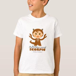 Scorpio Zodiac for Kids T-Shirt