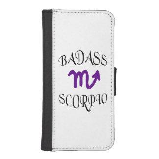 Scorpio Zodiac Funny Badass Phone Wallet