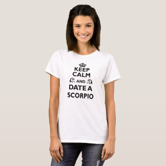 Scorpio Zodiac Funny/Cool Gift - Date With T-Shirt