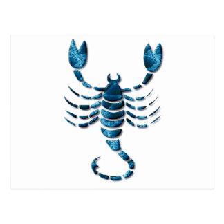 Scorpio Zodiac Postcard