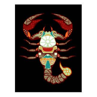 Scorpio Zodiac - Scorpion Post Cards