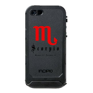 Scorpio zodiac sign incipio ATLAS ID™ iPhone 5 case