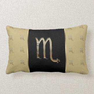 Scorpio Zodiac Sign Lumbar Pillow