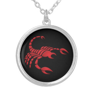 Scorpio Zodiac Sign Pendant