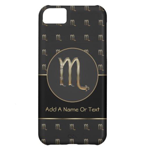Scorpio Zodiac Sign Personalized iPhone 5C Case