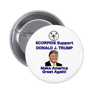 Scorpio Zodiac Sign Supports Trump button