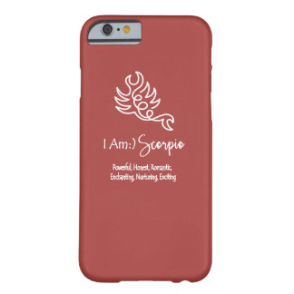 Scorpio Zodiac Sign The Scorpion Marsela Wine Red Barely There iPhone 6 Case