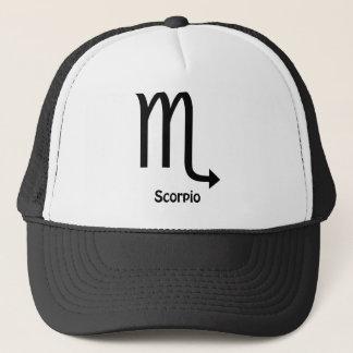 Scorpio Zodiac Sign Trucker Hat