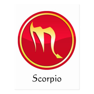 Scorpio - Zodiac Signs Post Cards