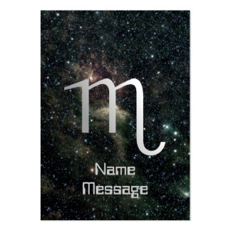 Scorpio Zodiac Star Sign Universe Business Card