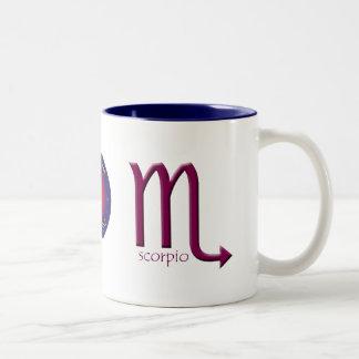 Scorpio Zodiac Symbol Mug