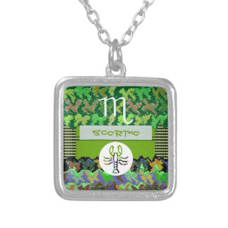 SCORPIO Zodiac Symbol Custom Necklace