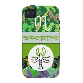 SCORPIO Zodiac Symbol Vibe iPhone 4 Covers