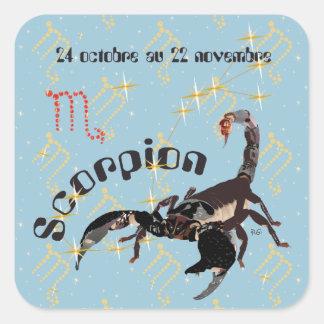 Scorpion 24 octobre outer 22 novembre Autocollant