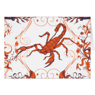 Scorpion 2 ~ Scorpions Scorpio Insect Insects Greeting Cards