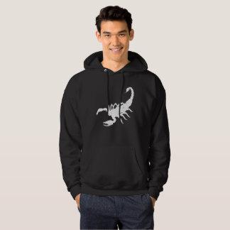 Scorpion Animal Distressed Vintage Look Hoodie