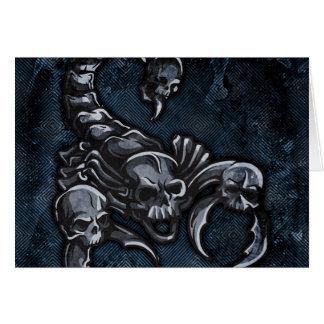Scorpion Greeting Cards