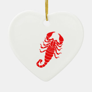 Scorpion Christmas Ornament