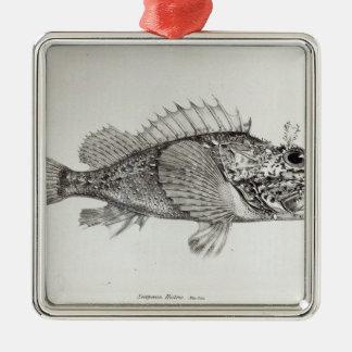 Scorpion Fish Christmas Ornament