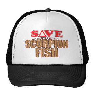 Scorpion Fish Save Cap