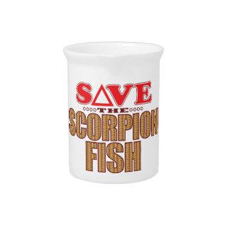 Scorpion Fish Save Pitcher