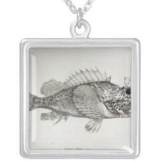 Scorpion Fish Silver Plated Necklace