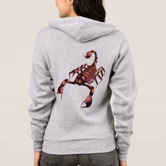 scorpion hoodie design, custom hoodie