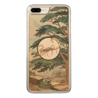 Scorpion In Natural Habitat Illustration Carved iPhone 8 Plus/7 Plus Case