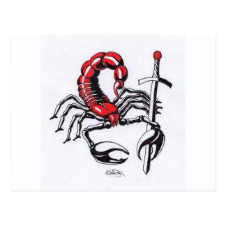 Scorpion Postcard
