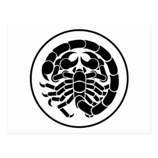 Scorpion Scorpio Zodiac Horoscope Astrology Sign Postcard