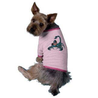 Scorpion Skull Woman Dog Clothes