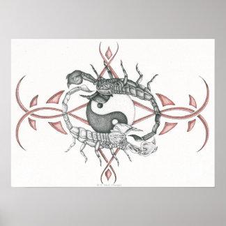 Scorpions of Balance Poster