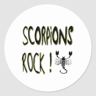 Scorpions Rock! Sticker