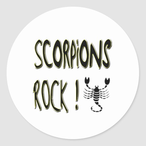 Scorpions Rock! Sticker