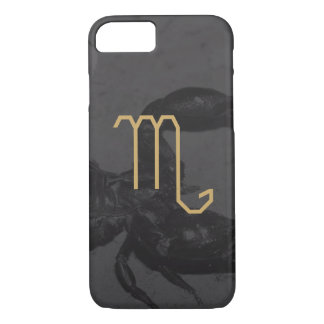Scorpius Zodiac Sign | Custom Background iPhone 7 Case