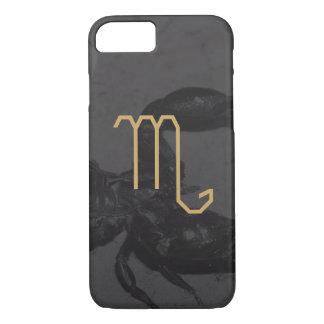 Scorpius Zodiac Sign   Custom Background iPhone 8/7 Case