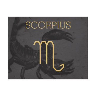 Scorpius Zodiac Sign | Custom Background + Text