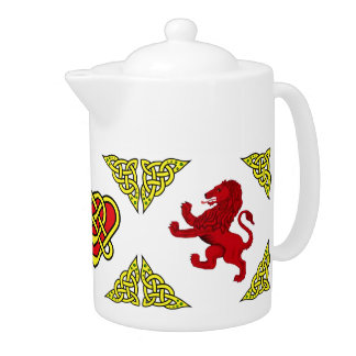 Scotalnd Celtic design/Red Rampant lion