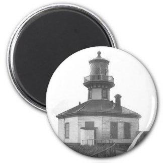 Scotch Cap Lighthouse 2 6 Cm Round Magnet