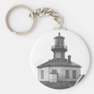 Scotch Cap Lighthouse 2 Basic Round Button Key Ring