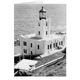 Scotch Cap Lighthouse Greeting Card