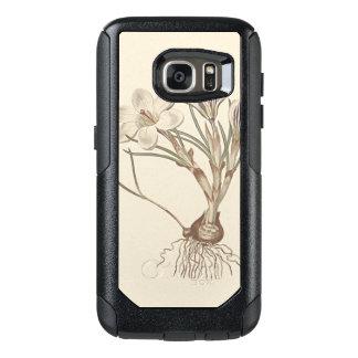 Scotch Crocus Botanical Illustration OtterBox Samsung Galaxy S7 Case